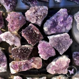 Amethyst Druze Cluster - small